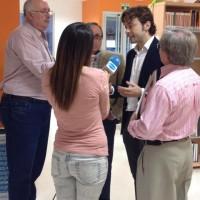 """Presentación de """"Buda en el Bolshói"""" (Biblioteca Pública Municipal Juan Campos Reina)"""