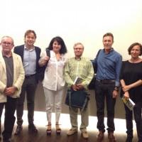 CON&VERSOS: junto a F. Ruiz Noguera, A. Luque, F. Morales Lomas, Isabel Bono y A. Moreno Ayora
