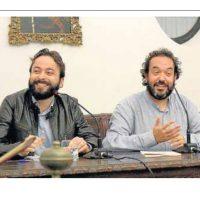 Con Pablo Bujalance y Nieves Rosales