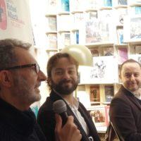 Librería Rafael Alberti, con Eloy Tizón (Madrid, 2019)