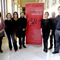 III Ciclo Encuentros con Autores en las Bibliotecas (coordina Cristina Consuegra)