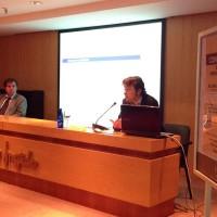 Con Enrique Baena, en la Sala Ámbito Cultural - El Corte Inglés