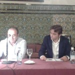"""Presentación de """"trENes"""", junto a Calixto Torres"""