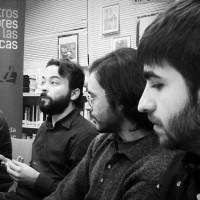 """En la BPM """"Cristóbal Cuevas"""" de Málaga, con Cristian Alcaraz y Gabriel Noguera"""
