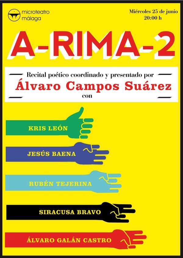 Cartel A-RIMA-2