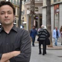 Entrevista con eldiario.es -Día del Libro 2015- (© Néstor Cenizo)