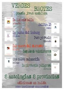 Cartel con las 8 antologías