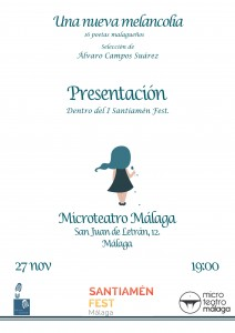 Cartel presentación Málaga