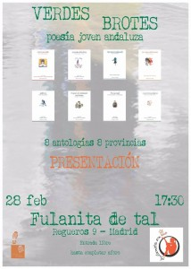 Cartel presentación Madrid