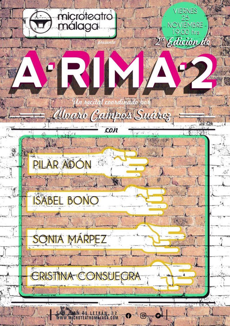 Cartel A-RIMA-2 2016
